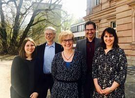 Foto von den Mitarbeitern des DiDaZ-Lehrstuhls